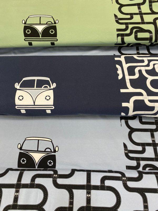 Panel t-shirt bus