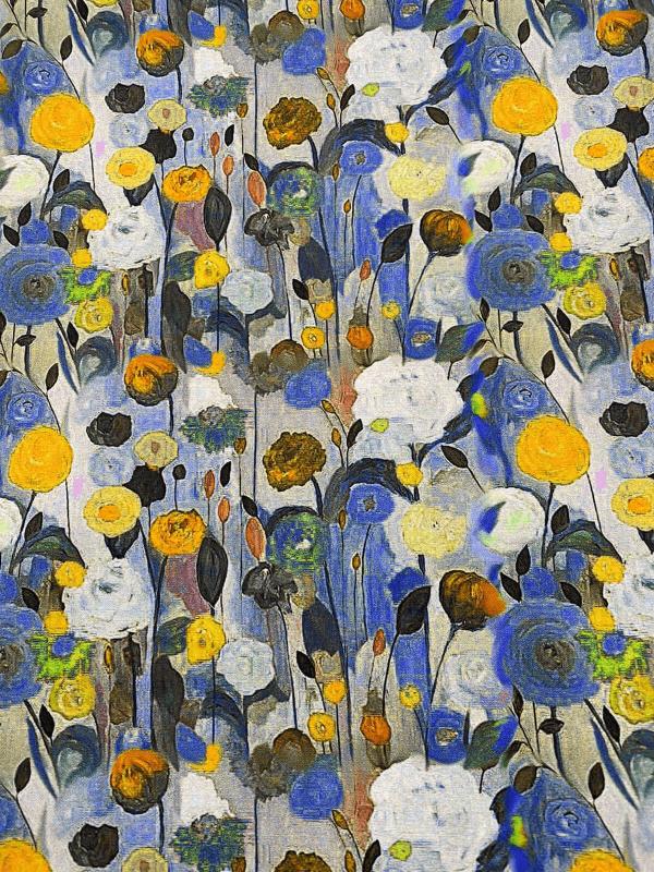 Gele bloempje